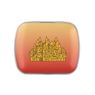 Castillo anaranjado
