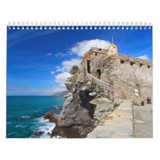 castillo antiguo en Camogli Calendarios
