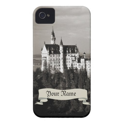 Castillo blanco funda para iPhone 4 de Case-Mate