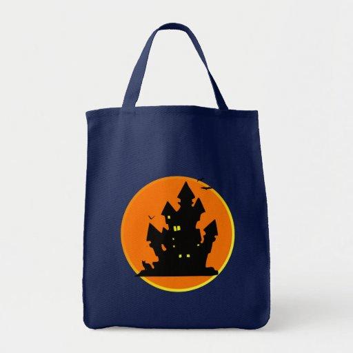 castillo bolsa tela para la compra