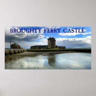 castillo broughty del transbordador posters