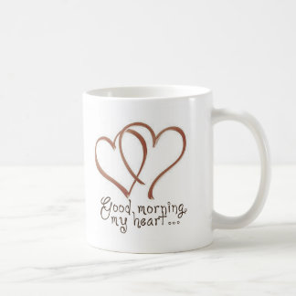 Castillo - buena mañana, mi corazón [con cita] taza
