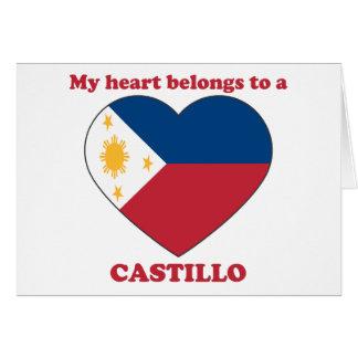 Castillo Card