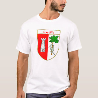 Castillo Coat of Arms/Family Crest T-Shirt