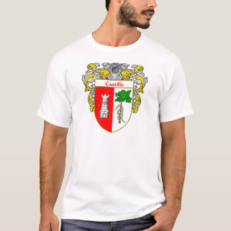 Castillo Coat of Arms (Mantled) T-Shirt