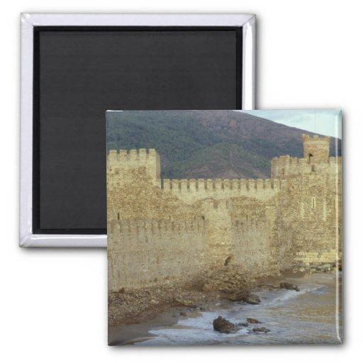 Castillo, construido por los cruzados imán cuadrado