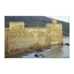 Castillo, construido por los cruzados lienzo envuelto para galerias