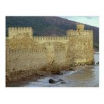 Castillo, construido por los cruzados postal