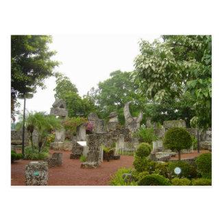 Castillo coralino tarjeta postal
