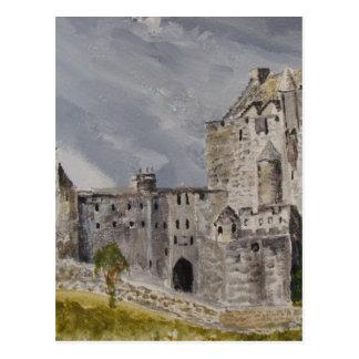 Castillo de 006 Eilean Donan, Escocia Postal
