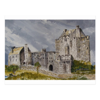Castillo de 006 Eilean Donan, Escocia Postales