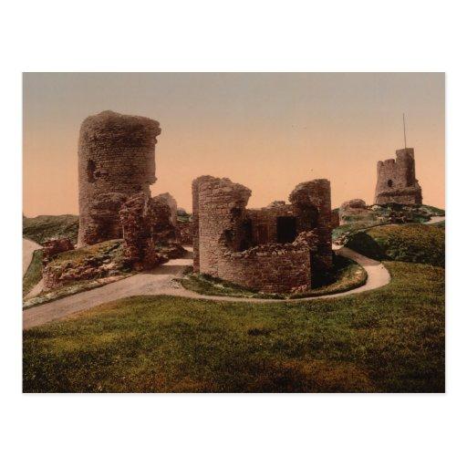 Castillo de Aberystwyth, Ceredigion, País de Gales Tarjeta Postal