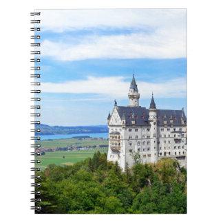 Castillo de Alemania, Baviera, Neuschwanstein - Libreta