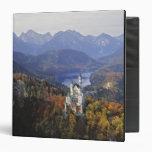 "Castillo de Alemania, Baviera, Neuschwanstein. Rey Carpeta 1 1/2"""