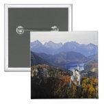 Castillo de Alemania, Baviera, Neuschwanstein. Rey Pin