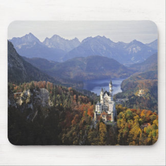 Castillo de Alemania, Baviera, Neuschwanstein. Rey Tapete De Ratón