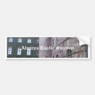 Castillo de Alnarps - Suecia Etiqueta De Parachoque