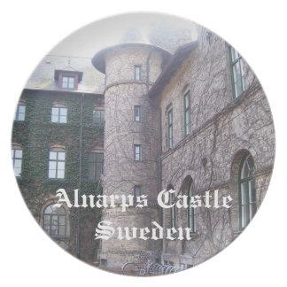 Castillo de Alnarps - Suecia Plato