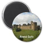 Castillo de Alnwick Imán Para Frigorífico