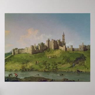 Castillo de Alnwick Poster