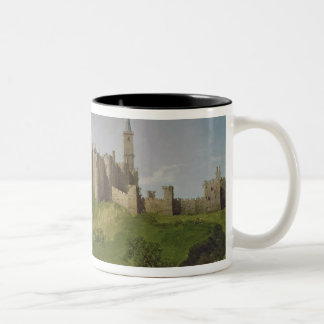 Castillo de Alnwick Taza De Dos Tonos