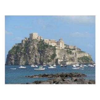 Castillo de Aragonese, isquiones, Italia Postal