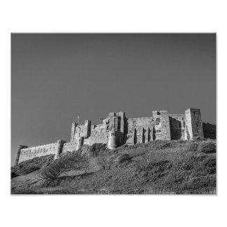 Castillo de Bamburgh, Northumberland Fotografías