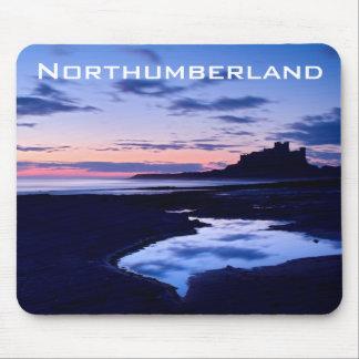 Castillo de Bamburgh - Northumberland Tapete De Ratón