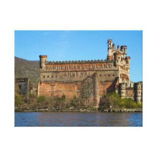 Castillo de Bannerman Impresión En Lona Estirada
