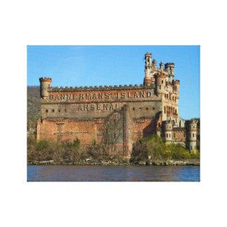 Castillo de Bannerman Lienzo Envuelto Para Galerias