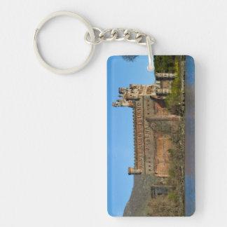 Castillo de Bannerman Llavero Rectangular Acrílico A Doble Cara