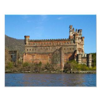 Castillo de Bannerman Arte Fotográfico