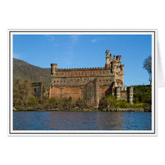 Castillo de Bannerman Tarjeta De Felicitación