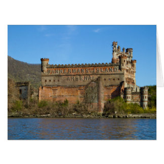 Castillo de Bannerman Tarjeta De Felicitación Grande