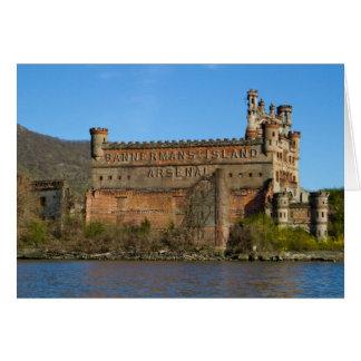 Castillo de Bannermans Tarjeta De Felicitación