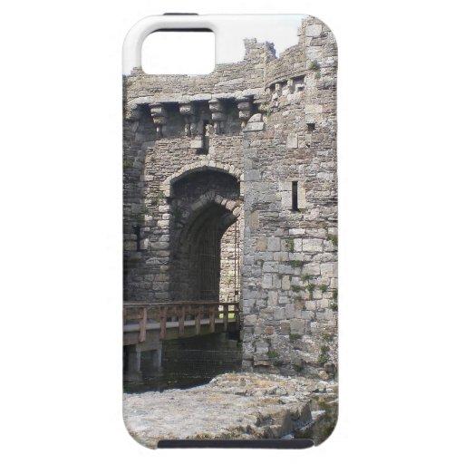 Castillo de Beaumaris iPhone 5 Case-Mate Fundas