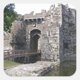 Castillo de Beaumaris Colcomanias Cuadradass