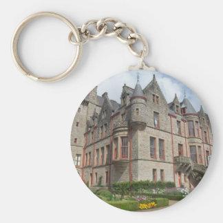 Castillo de Belfast Irlanda del Norte Llaveros Personalizados