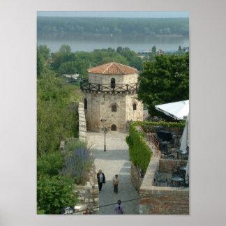 Castillo de Belgrado Poster