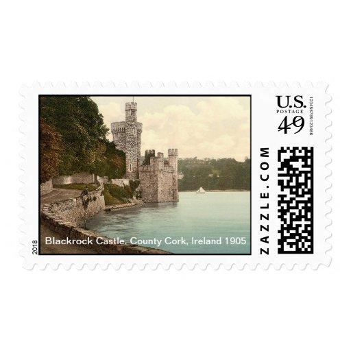Castillo de Blackrock. Corcho del condado, Irlanda Sellos