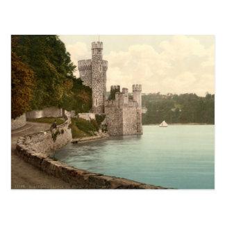 Castillo de Blackrock, Irlanda del siglo XIX Postal