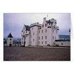 Castillo de Blair, Blair Atholl, Escocia Tarjeton