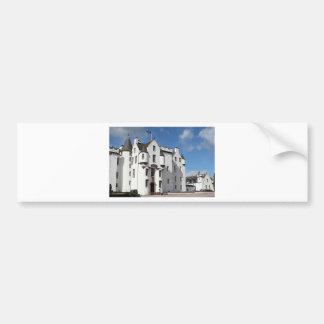 Castillo de Blair Escocia Reino Unido Pegatina De Parachoque