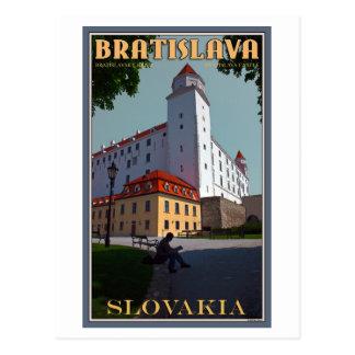 Castillo de Bratislava Tarjetas Postales
