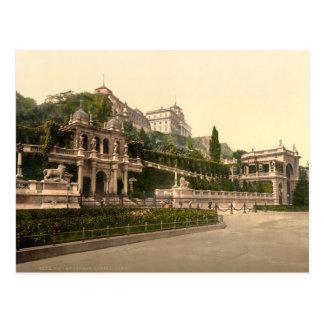 Castillo de Buda, Budapest, Hungría Postal