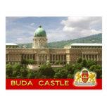 Castillo de Buda en Budapest, Hungría Postal
