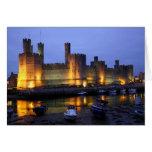 Castillo de Caernarfon Felicitación