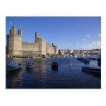 Castillo de Caernarfon, Gwynedd, País de Gales 2 Postales