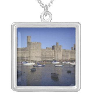 Castillo de Caernarfon, Gwynedd, País de Gales Colgante Cuadrado