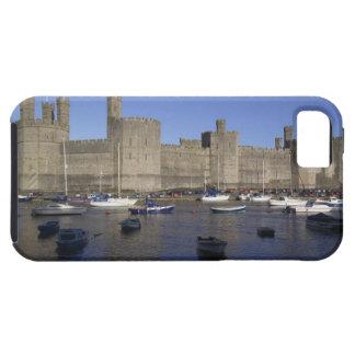 Castillo de Caernarfon, Gwynedd, País de Gales Funda Para iPhone 5 Tough